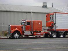cool w900a extended hood (hanks1961kw) Tags: classic big antique rig trucks peterbilt kenworth 359 w900