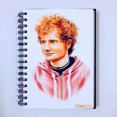 @jomatuazon: Coloured pencil drawing of my favourite musician - Ed Sheeran (@teddysphotos). I have nothing but the deepest respect for this guy, he's an outstanding performer! You should see one of his concerts live or on YouTube, you'll surely be amazed by his superb talent. #edsheeran #sheeran #sheerio