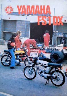 Mini Motorbike, Motorcycle Mechanic, Motorcycle Posters, Mini Bike, Yamaha 250, Yamaha Bikes, Small Motorcycles, Bike Builder, Classic Motors