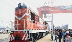 انطلاق أول رحلة قطار شحن يربط بين…: أعلنت شركة السكك الحديدية الصينية انطلاق أول رحلة قطار شحن من الصين إلى بريطانيا. وقالت الشركة -فى بيان…