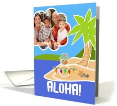 Christmas in Hawaii Aloha! Mele Kalikimaka... | Greeting Card Universe by Cherie