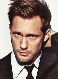Man Candy Monday - Alexander Skarsgard | The Glamourati, I could look at that face all day, every day!