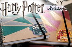 Harry Potter DIY Notebooks!! 2016
