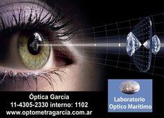 Laboratorio Optico Maritimo Óptica García 11-4305-2330 interno: 1102 www.optometragarcia.com.ar Lab