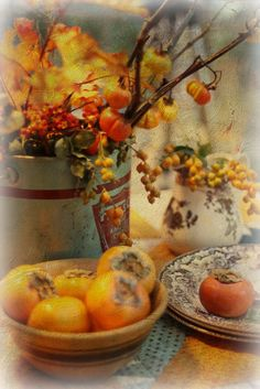"""persimmons and other things"" by lucia and mapp on Flickr - persimmons and other things"