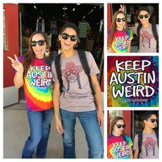 Keepin' Austin Weird here @ ST!  #keepaustinweird #austiniswillieweird #austinstyle #backtoschoolstyle #sothread #atx — at Southern Thread @ The Domain.