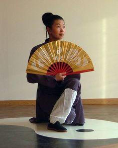 #KungFuCorner ▶ Tai chi fan