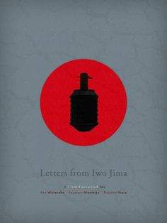 Letters from Iwo Jima (2006) ~ Minimal Movie Poster by Andre Perera #amusementphile