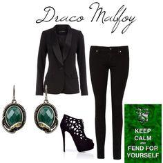 Draco Malfoy inspired <3 it!