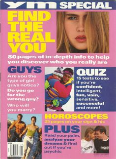 1992 YM Magazine - Find the Real You