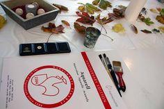 Aquarelle zum Herbstanfang | Schnappschüsse aus dem Aquarellkurs – bunter Herbstblätter (c) FRank Koebsch (3)