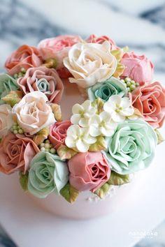 100 дней до Нана торт торт _ впечатлить подругу подарок! Нана: Naver блог