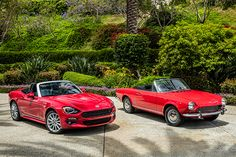The 2017 iteration of the 124 Spider is Fiat's resurrection of the timeless Pininfarina designed convertible sports car that made its debut in 1966 and had a solid production run that ended in 1985. With the new 124 Spider, Fiat's design center in Turin, Italy, has taken the original 124 design and updated it, creating a roadster to appeal to those wanting a stylish sports car with Italian flare. When viewing the new 124 Spider and the classic car side by side, you'd think that a…
