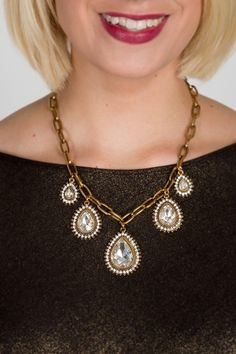 Statement necklace at Plum