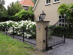 Prachtig #sierhekwerk met automatische poort van Sierhekwerken Verbruggen
