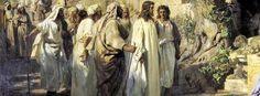 Salmos Proverbios y Citas Bíblicas: Evangelio Comentado, le siguió una gran muchedumbr...