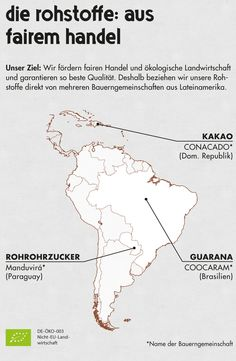 #fairtrade #Guarana #Kakao #cocoa
