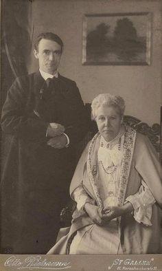 Rudolf Steiner and Annie Besant