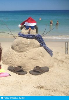 Meanwhile, Christmas in Australia...