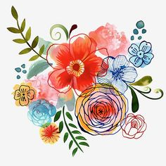 Margaret Berg Art: Artisanal Floral #illustratin #art