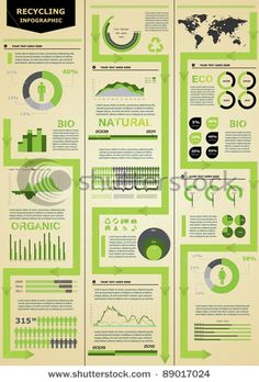 Stock Vector Illustration:  Ecology infographic.
