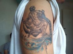 Like all other Zodiac signs, the image and the symbol of Aquarius tattoo is very popular. The Aquarius arm tattoo design is commonly made among many young. http://tattootats.com/aquarius-arm-tattoo/