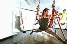 Aerial Yoga #aerialyoga #wellness #health #beauty #articles #press #tips #exercice #rafaelmartinez