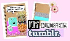 DECORA TUS CUADERNOS estilo TUMBLR ♥ // REGRESO A CLASES