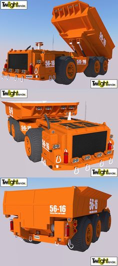 UnderGround Dump Truck by MSgtHaas.deviantart.com on @deviantART