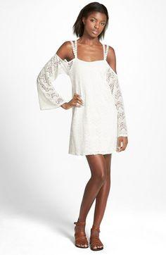 dee elle Lace Cold Shoulder Dress available at #Nordstrom