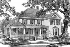 House Plan 7922-00081 - Country Plan: 2,825 Square Feet, 4 Bedrooms, 3.5 Bathrooms