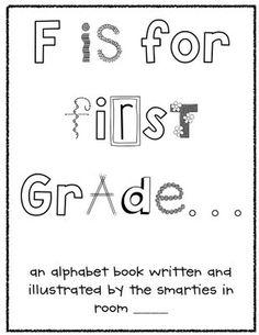 back to school class book idea