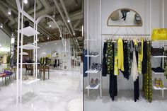 Dresses store by Think Forward, Burgas – Bulgaria » Retail Design Blog