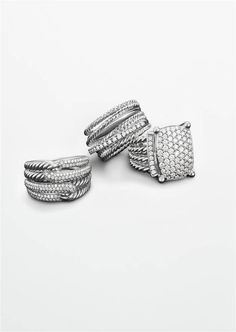 Silver Ice® combines brilliant diamonds with the sensual patina of sterling silver.