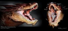 abaker: The Hobbit - Desolation of Smaug Creature work