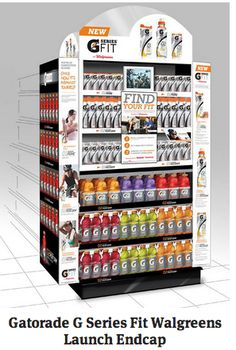 Gatorade series launches its new line at Walgreens