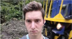 Watch what happens when a train driver has had enough of selfies