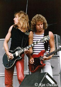 Watson Gillis - Night Ranger 80s Music, Good Music, Gary Richrath, Night Ranger, 80s Rock Bands, Esp Guitars, Metal Horns, Best Guitar Players, Hard Rock