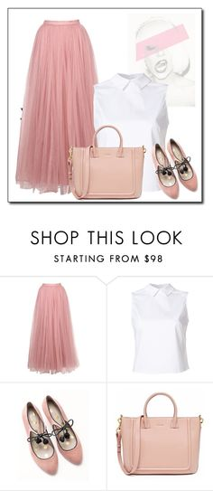 """Untitled #1603"" by azra-90 ❤ liked on Polyvore featuring Little Mistress, Misha Nonoo and Boden"