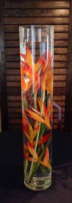 Submerged Tropical by Love In Bloom Florist, Key West, Florida, Wedding Centerpieces, Michael's Restaurant