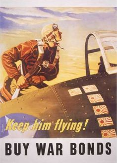 WWII Posters Pinned by www.HistorySimulation.com