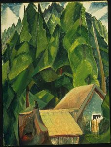I absolutely adore Emily Carr . And I treasure the fact that there is the Emily Carr House --where she live. Lauren Harris, Franklin Carmichael, Tom Thomson, Emily Carr, Group Of Seven, The Settlers, Canadian Artists, Tree Art, Great Artists