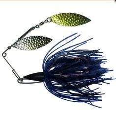 SPINNERBAIT      REMOVABLE JIG BLACKBLUE SKIRT      WEEDLESS HOOK   bitesbackfishing.com