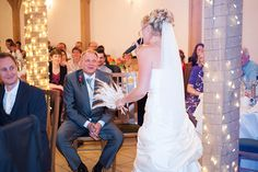 Gaynor and Lennox real life wedding at Rivervale Barn - Gaynor's surprise for Lennox | CHWV
