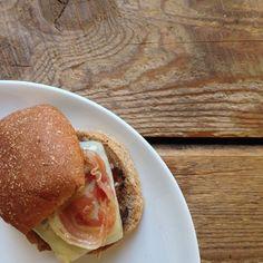 #recipeoftheday | Pancetta Cheeseburgers from @marthastewart Dinner At Home #Padgram