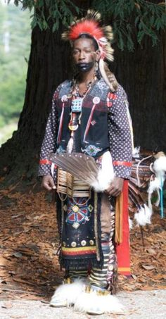 North American Indigenous man Tribe unknown