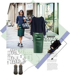 """""""Pencil skirt"""" by disconnect ❤ liked on Polyvore"""