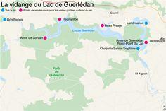 lac de Guerlédan (vide )