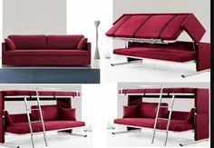 1000 Images About Couches That Turn Into Beds On Pinterest Bunk Bed Couch And Huge Bed