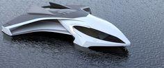 flying yacht, ekranoyacht, ekranoplane, ekranoplan, airplane, luxury yacht, concept, design, hydrogen yacht, australian design awards, Jaron Dickson